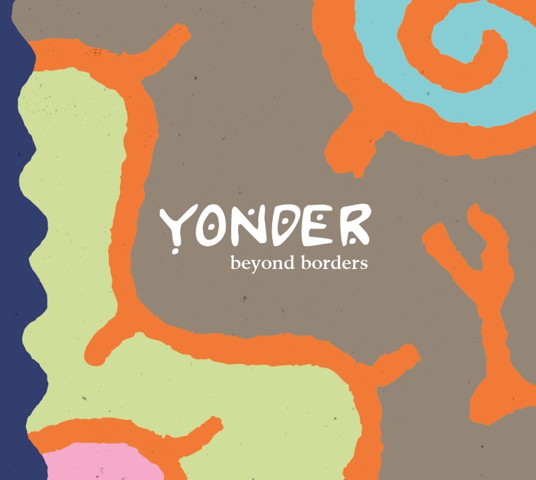 "CD Cover Yonder ""beyond borders"""