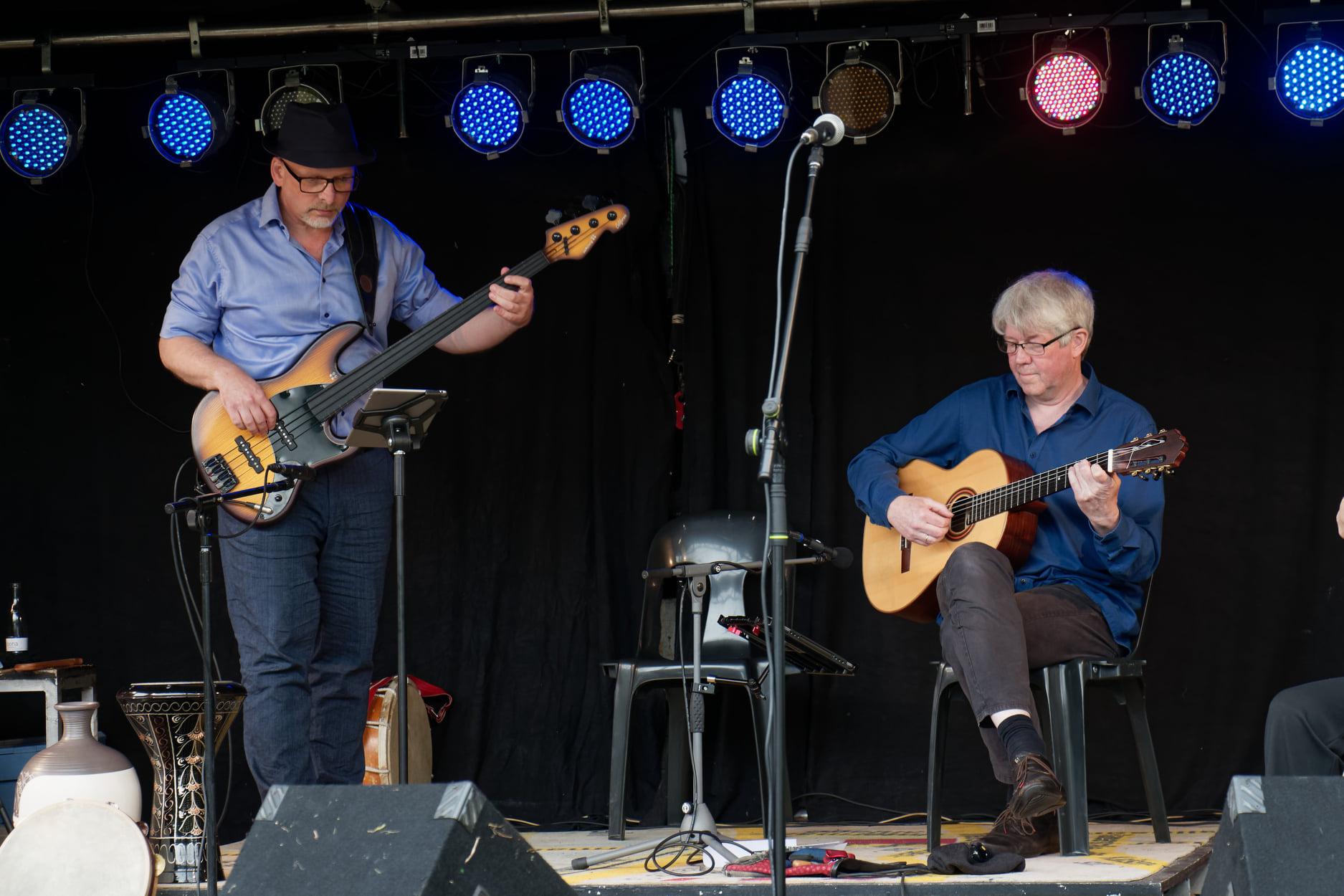 Michael und Olaf bei Kropp in Concert, Foto: Stephan May